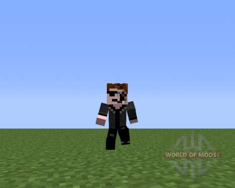 Animated Player для Minecraft