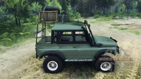УАЗ-469Г для Spin Tires