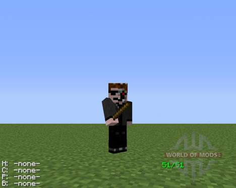 The Sharp Stick для Minecraft