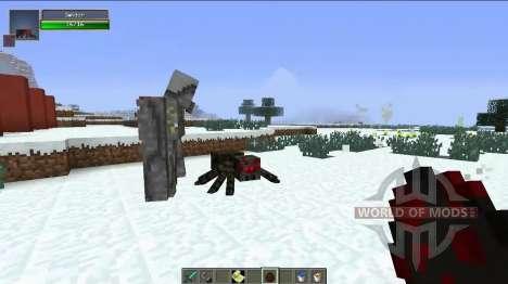 Новые големы для Minecraft