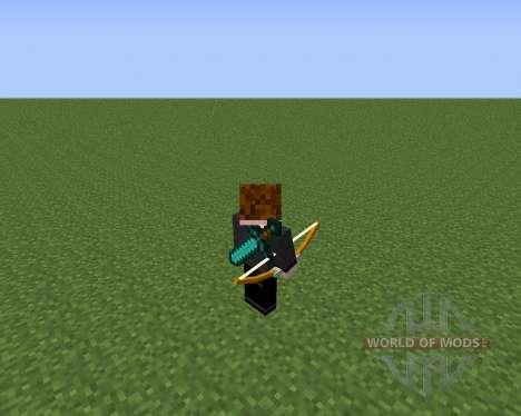 Back Tools для Minecraft