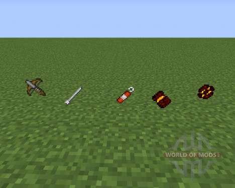 TuxWeapons для Minecraft
