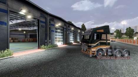 Ранее открытие гаражной двери для Euro Truck Simulator 2