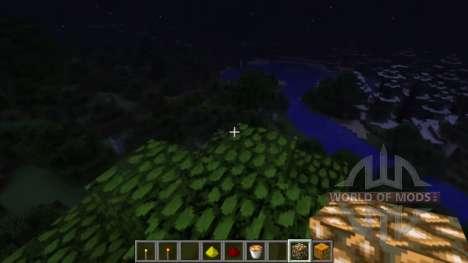 Динамическое освещение для Minecraft