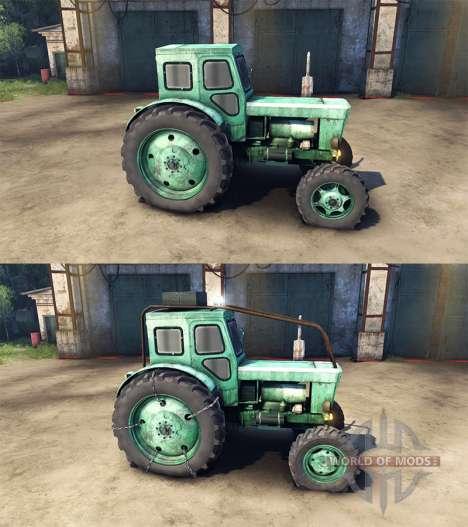 Т-40АМ для Spin Tires