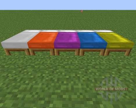 Dyeable Beds для Minecraft