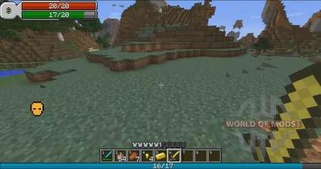 RPG интерфейс для Minecraft