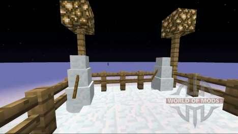 Снеговики спавнятся для Minecraft