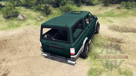 УАЗ-23632 для Spin Tires
