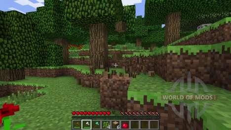 Облегченная добыча древесины для Minecraft