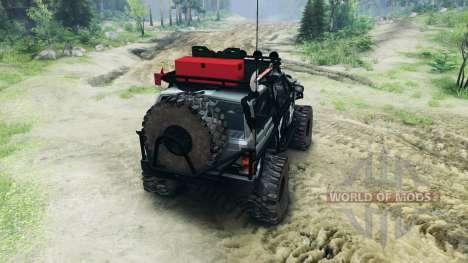 Jeep Cherokee XJ v1.1 Camo для Spin Tires