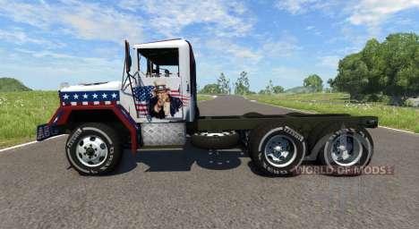 AM General M35A2 Racing для BeamNG Drive