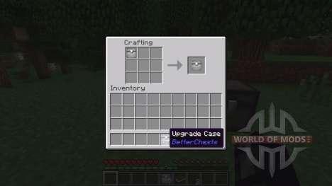Улучшенные сундуки. для Minecraft