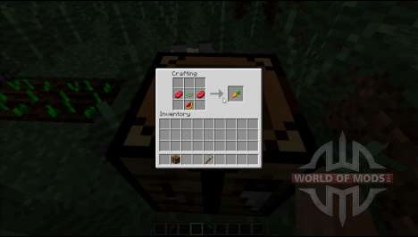 Морковка крафтиться для Minecraft