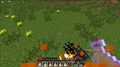 Рандомный эффект для Minecraft