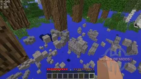 Чит на прозрачные блоки для Minecraft