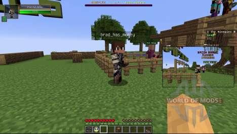 Режим картинка в картинке для Minecraft
