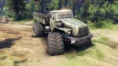 Урал-4320 Полярник v1.1 для Spin Tires