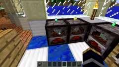 Новая модель печки для Minecraft