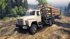 КрАЗ-6437 CabCol v2 для Spin Tires