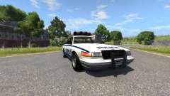 Vapid Police Cruiser для BeamNG Drive