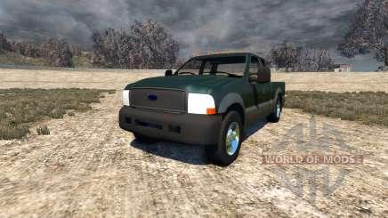 Ford F-250 2004 для BeamNG Drive