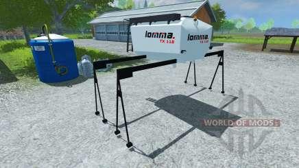 Цистерна Lomma TX 118 для Farming Simulator 2013