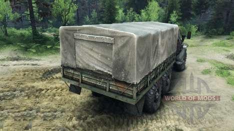 Урал-4320 -Шасси- для Spin Tires