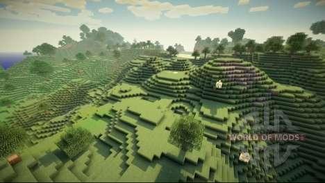 GLSL шейдеры для Minecraft