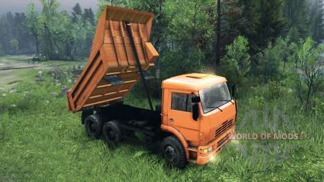 Новые кузова для КамАЗ-6520 для Spin Tires