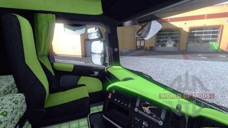 Интерьер для Scania -Acid- для Euro Truck Simulator 2