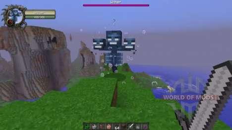 Индикаторы урона для Minecraft