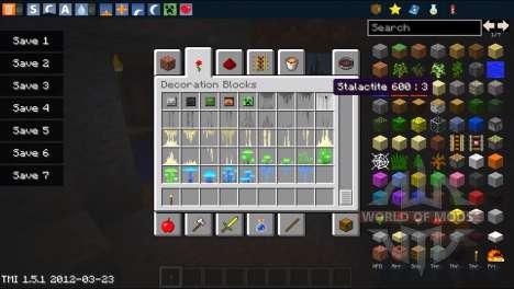 Новый генератор пещер для Minecraft