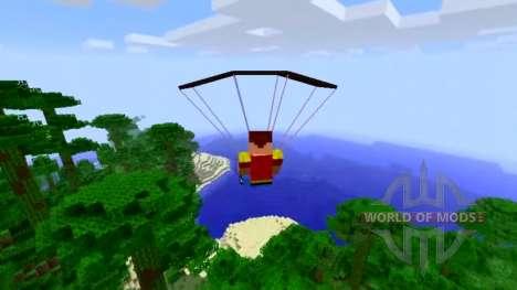 Парашют для Minecraft