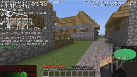 Информация о деревнях для Minecraft