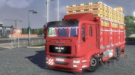 MAN TGL Camion для Euro Truck Simulator 2
