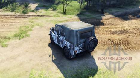 УАЗ-469 в новом окрасе для Spin Tires