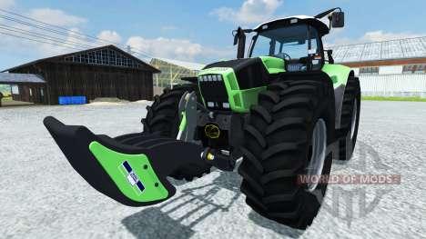 Deutz-Fahr Flex Weight для Farming Simulator 2013