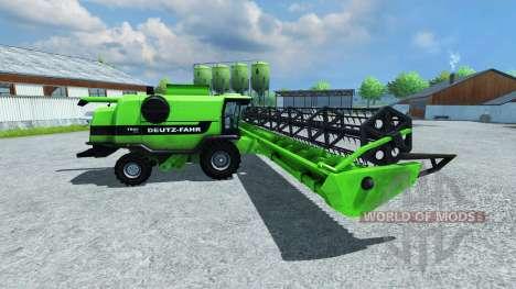 Deutz-Fahr Cutter 7545 RTS XL для Farming Simulator 2013