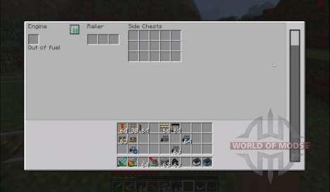 Новые вагонетки для Minecraft