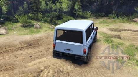 УАЗ-3170 Симбир для Spin Tires
