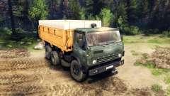 КамАЗ-55102 v3.0 для Spin Tires