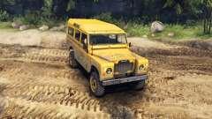 Land Rover Defender Camel Trophy Siberia для Spin Tires