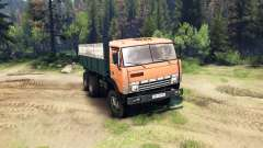 КамАЗ-55102 v2.0 для Spin Tires