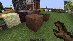 Переворачиваемые блоки для Minecraft