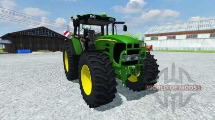 John Deere 753 Premium v2.0 для Farming Simulator 2013