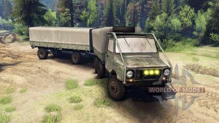 ЛуАЗ-13021 6х6 для Spin Tires
