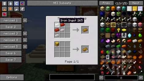 Новые руды, новый лут для Minecraft