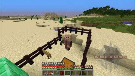 Броня-моб для Minecraft