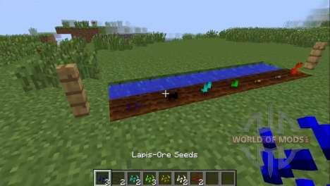 Выращивание руды для Minecraft